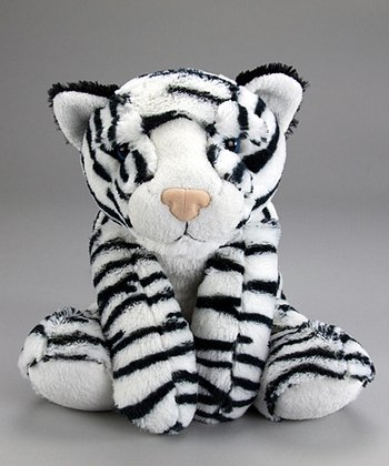 Vegas the White Tiger Plush Toy
