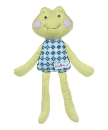 GANZ Green Frog Plush Toy