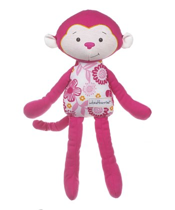GANZ Pink Monkey Plush Toy