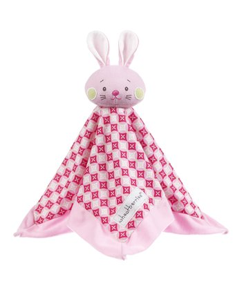 GANZ Pink Geometric Plush Lovey