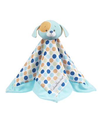 GANZ Blue Dot Dog Plush Lovey