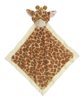 GANZ Brown Jamie Giraffe Plush Lovey