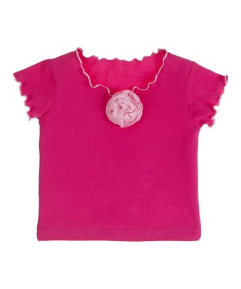 GANZ Rose Flower Top