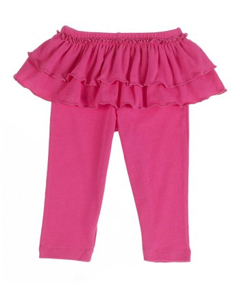 GANZ Rose Ruffle Skirted Leggings