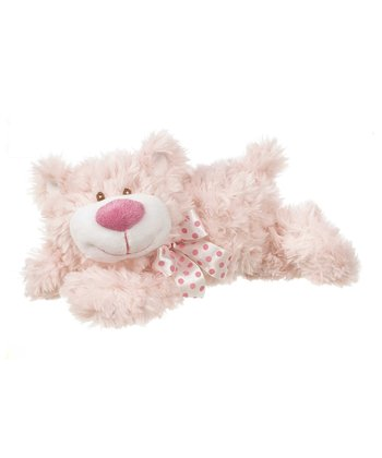 GANZ Pink 12'' Colby Bear Plush Toy