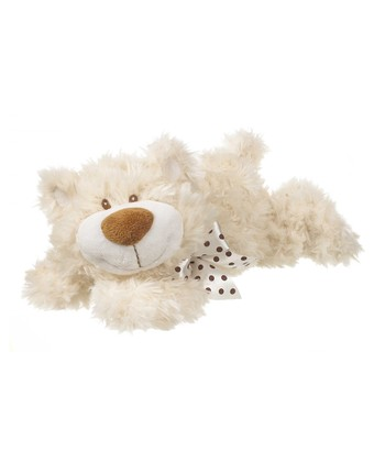 GANZ White 12'' Colby Bear Plush Toy