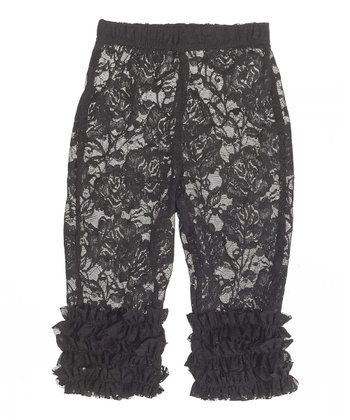 GANZ Black Lace Leggings