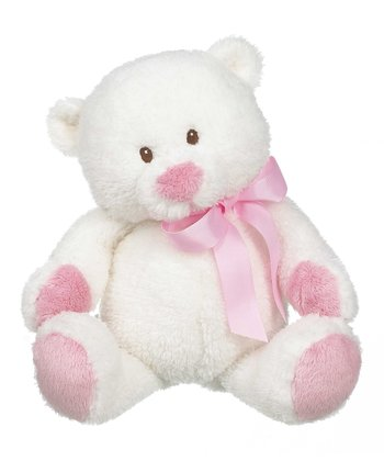 GANZ Pink 11'' Bennet Bear Plush Toy