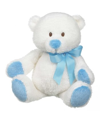 GANZ Blue 11'' Bennet Bear Plush Toy