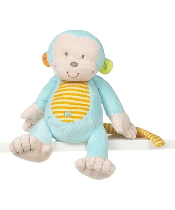 GANZ Blue 9'' Mason Monkey Plush Toy