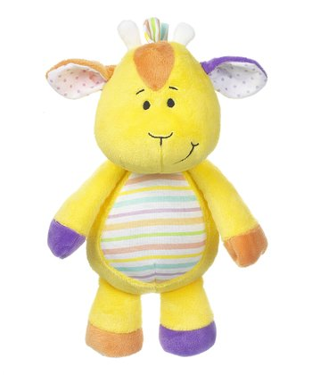 GANZ Yellow 11'' Giraffe Plush Toy