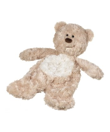 GANZ Tan Bear Flatapat Plush Toy