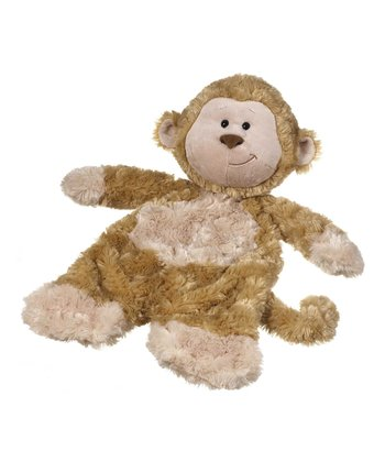 GANZ Brown Monkey Flatapat Plush Toy
