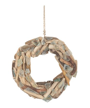 Driftwood & Seaglass Wreath