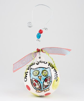 'Owl Love You Forever' Personalized Ornament