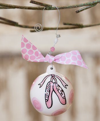 Ballet Slippers Personalized Ornament
