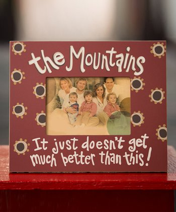 'The Mountains' Picture Frame