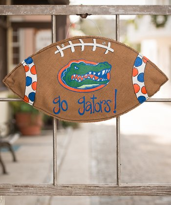 Florida Football Burlap Wall Hanging
