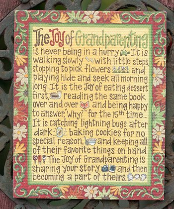 'Joy of Grandparenting' Magnet