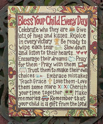 'Bless Your Child' Magnet