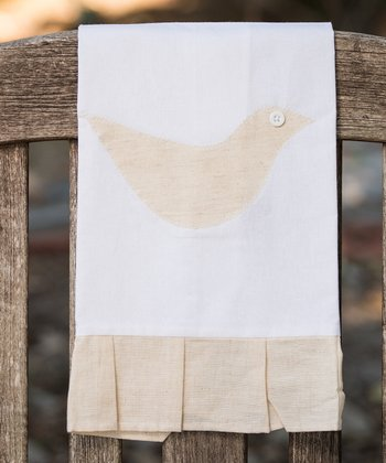 Natural Bird Tea Towel