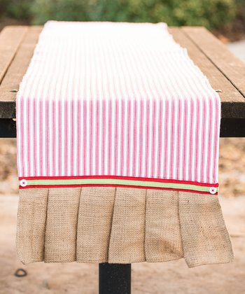 Red 17'' x 90'' Table Runner