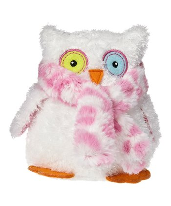 White Opal Owl Plush Toy