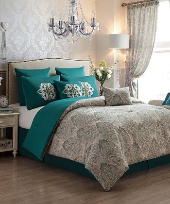 Aqua Radcliff Comforter Set