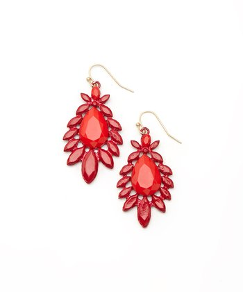 Red Gypsy Earrings