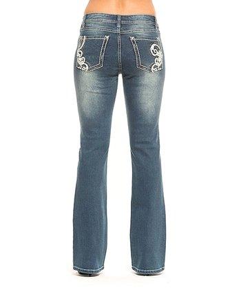 Galaxy Shelby Bootcut Jeans - Women