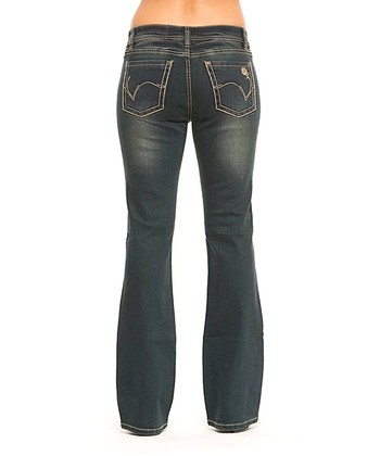 Onyx Rose Bootcut Jeans - Women