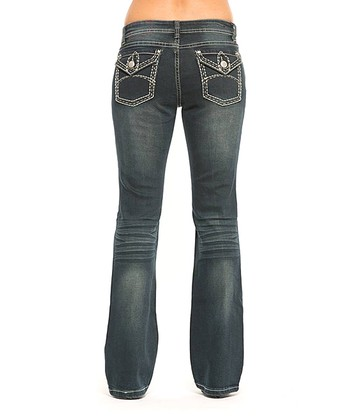 Dirty Dark Jessal Bootcut Jeans - Women