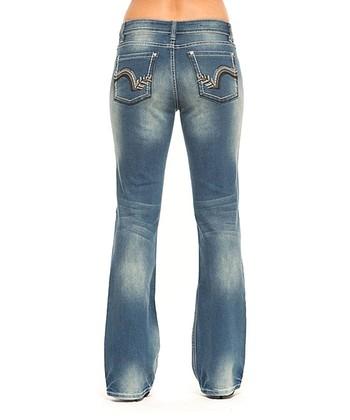 Metro Heather Bootcut Jeans - Women
