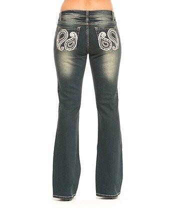 Onyx Penny Bootcut Jeans - Women