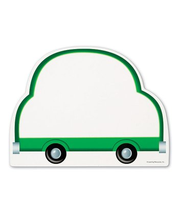 Car Write & Wipe Board - Set of Five