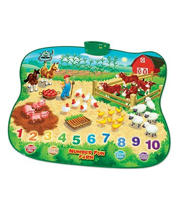 Number Fun Farm Electronic Talking Play Mat
