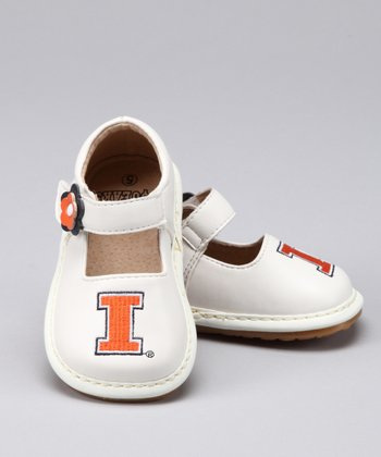 Illinois Fighting Illini Squeaker Mary Jane