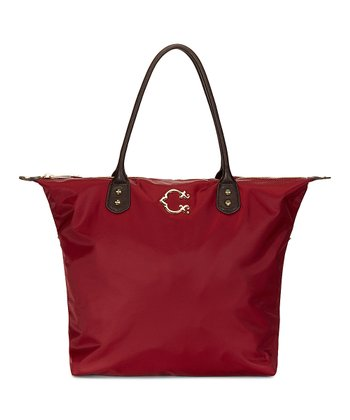 Oxblood Easy Tote