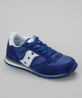 Saucony Blue B Jazz LP Sneaker - Boys