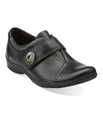 Black Kessa Betty Leather Shoe