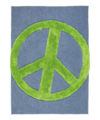 Green Peace Crash Rug