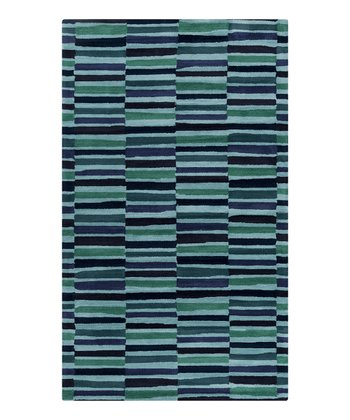 Blue & Green Young Life Rug