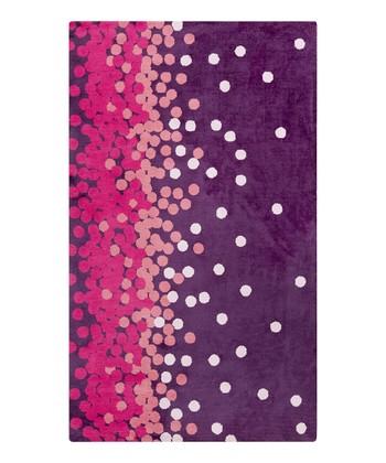 Pink & Violet Scatter Abigail Rug
