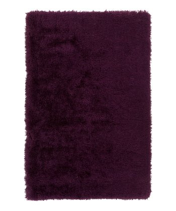 Deep Violet Monster Rug