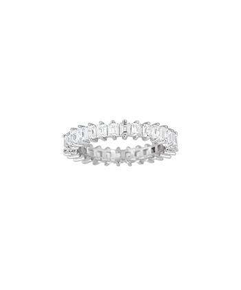 Sparkle & Sterling Silver Eternity Ring