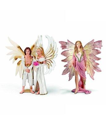 Newlyweds & Standing Feya Figurine Set
