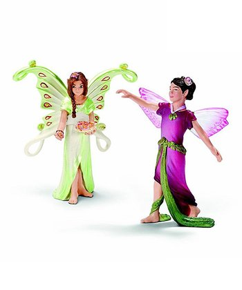 Flower Elf & Magnolia Elf Figurine Set