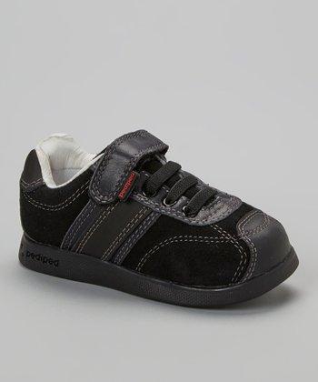 pediped Black Carson Sneaker