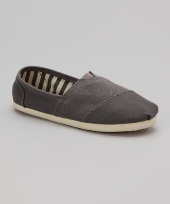 Gray Slip-On Shoe
