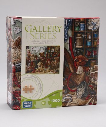 Bear 1000-Piece Gallery Series Wooden Puzzle